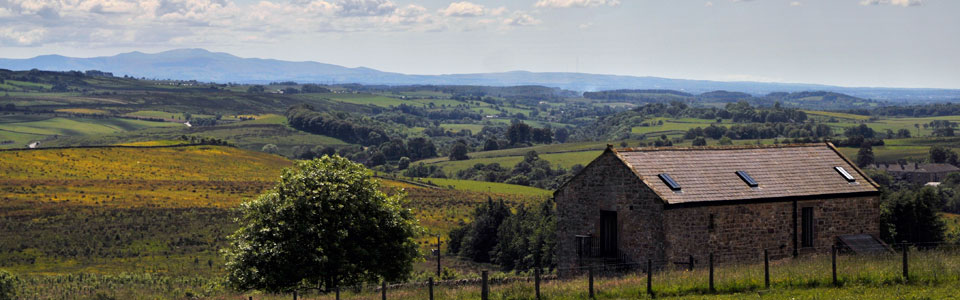 Photo: fantastic countryside at West Nichold holiday cottage Gilsland Cumbria